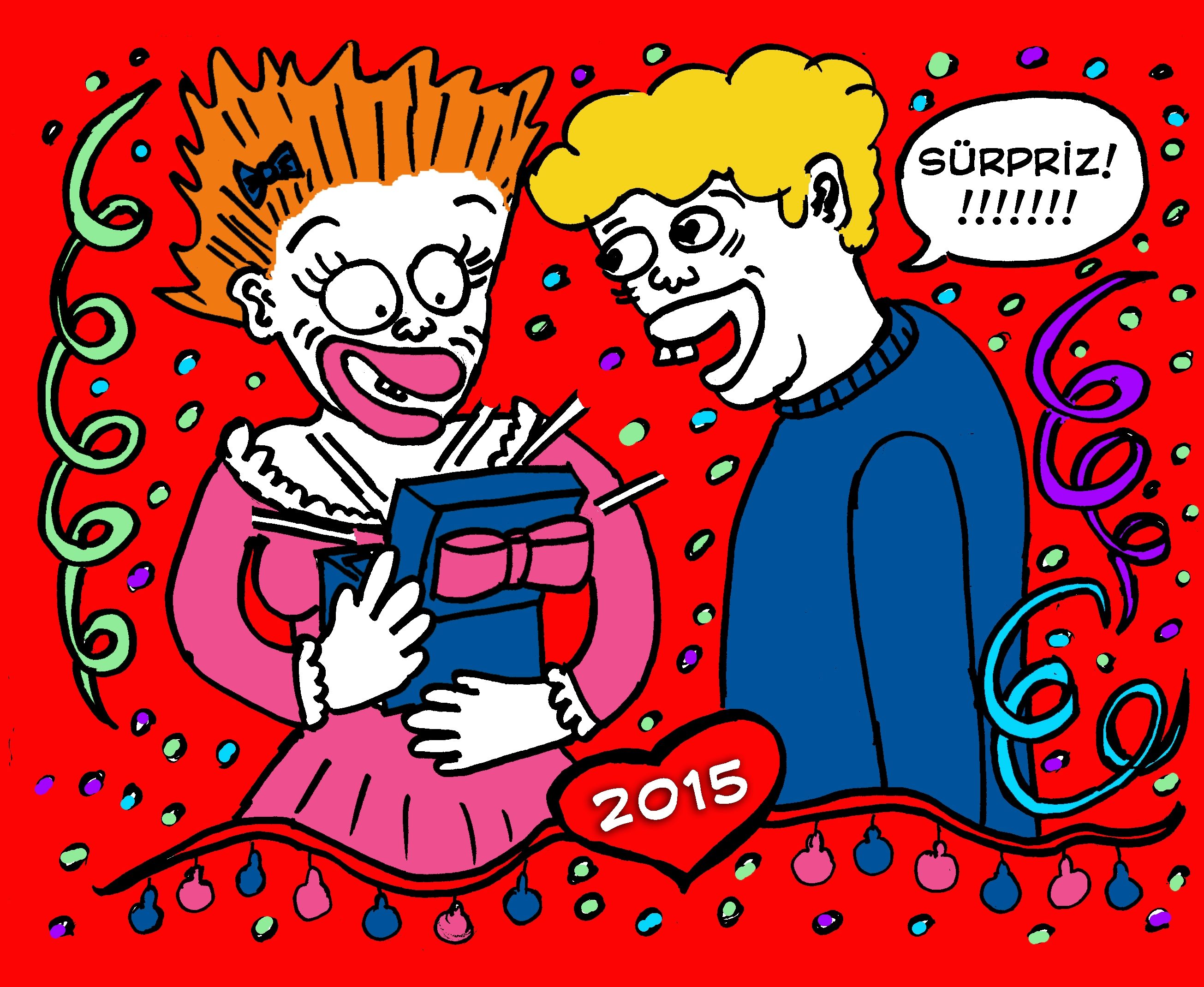 Sence o kutunun içinde ne var? En komik, en eğlenceli, en yaratıcı yılbaşı hediyesi fikrini bekliyoruz!