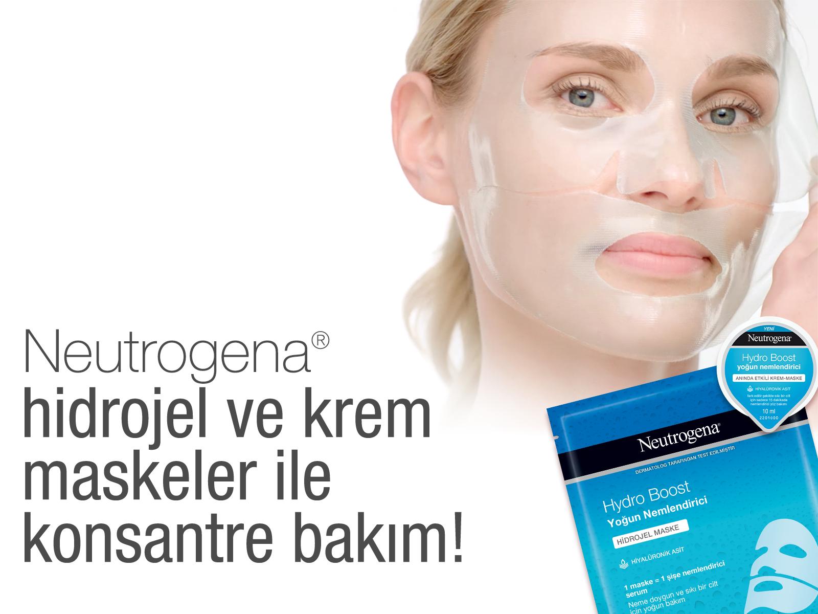 Hidrojel maskelerin kalbini çalan özelliğini yaz; hediyeyi kazan! Yeni, havalı ve pratik hidrojel maskeleri denemeye hazır mısın?