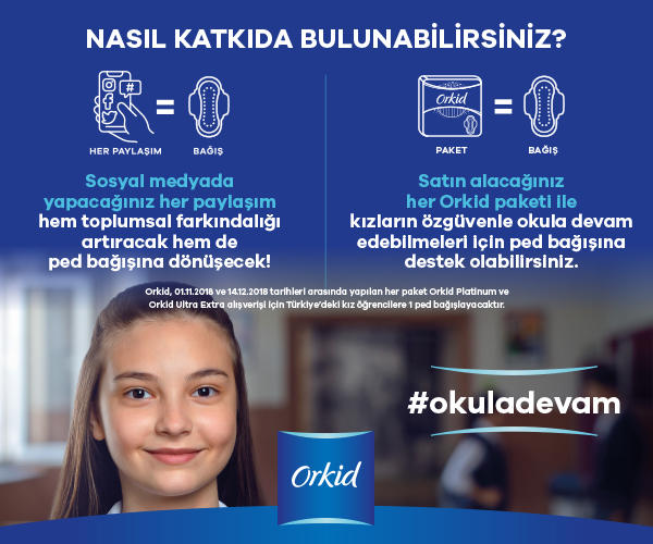 Özgüvenle okula devam etmek tüm kız öğrencilerin hakkı! #okuladevam projesine nasıl destek olabileceğini biliyor musun?