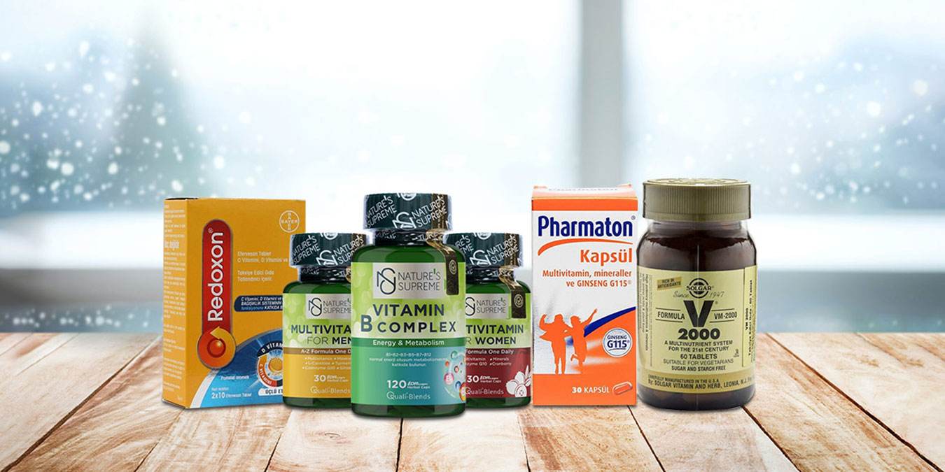 Bağışıklık sistemini güçlendiren vitaminler